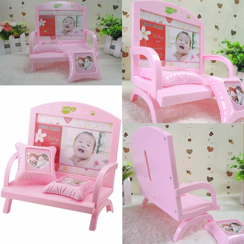 wishing chair photo frame high sale vogue sweet time memories sofa shape wedding decor 76027