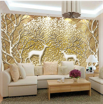 Customized large abstract photo mural 3d wallpaper living for 3d interior wall murals