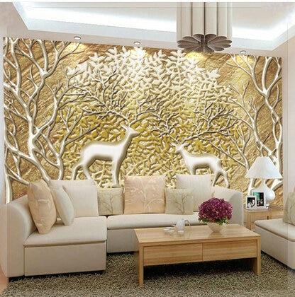 3d Wallpaper For Bedroom Walls India 3d Wallpaper Designs For Living