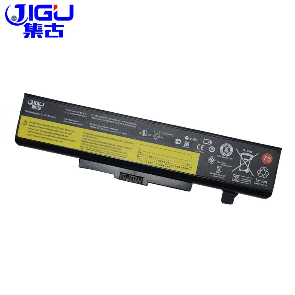 JIGU New 6 Cells Laptop Battery FOR LENOVO G580 Z380 Z380AM Y480 G480 V480 Y580 G580AM L11S6Y01 L11L6Y01 new genuine 14 4v 5200mah 74wh 8 cells a42 g55 notebook li ion battery pack for asus g55 g55v g55vm g55vw laptop