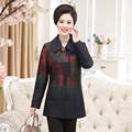 XL 4XL mujeres blazers chaquetas delgado más el tamaño de primavera invierno de algodón con cremallera Oculta feminino chaqueta a cuadros de manga larga femenina escudo