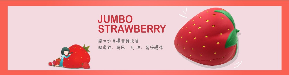 18 Style (19cm-26cm) Super Big Giant Fruits Orange Watermelon Strawberry Peach Unicorn Jumbo Squishy 1