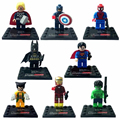 8pcs Avengers Super Hero Deadpool Batman Building Blocks Sets Kids Toys For Children Super heroes