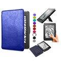 Высокое качество кожа смарт обложка книги для Amazon Kindle paperwhite1 2 3 2016 2015 2014 2012 case чехол рукавом сумка стенд закрытие
