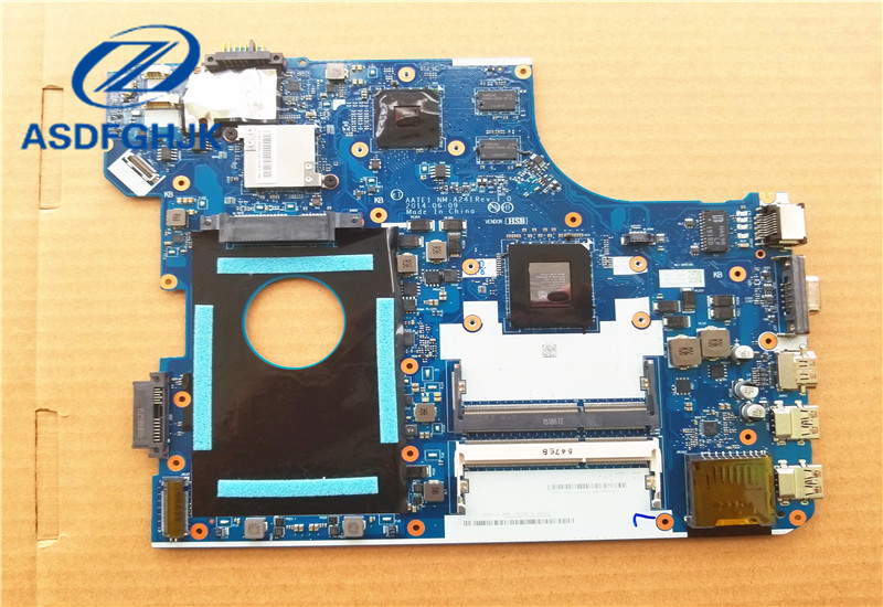 Laptop Motherboard For Lenovo E555 Motherboard AATE1 NM-A241 DDR3L Non-integrated 100% Tested ok