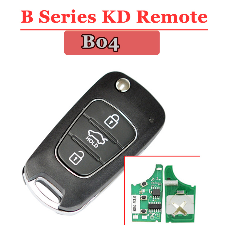 Free shipping (1piece)B04 kd remote 3 button B series key  For kd900 urg200 remote master