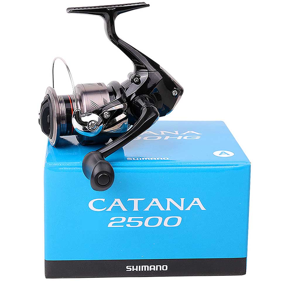 Original SHIMANO Reel CATANA Fishing spinning reel 2+1BB 1000/2500/3000/4000 3.0KG-8.5KG power seawater/freshwater metal Spool