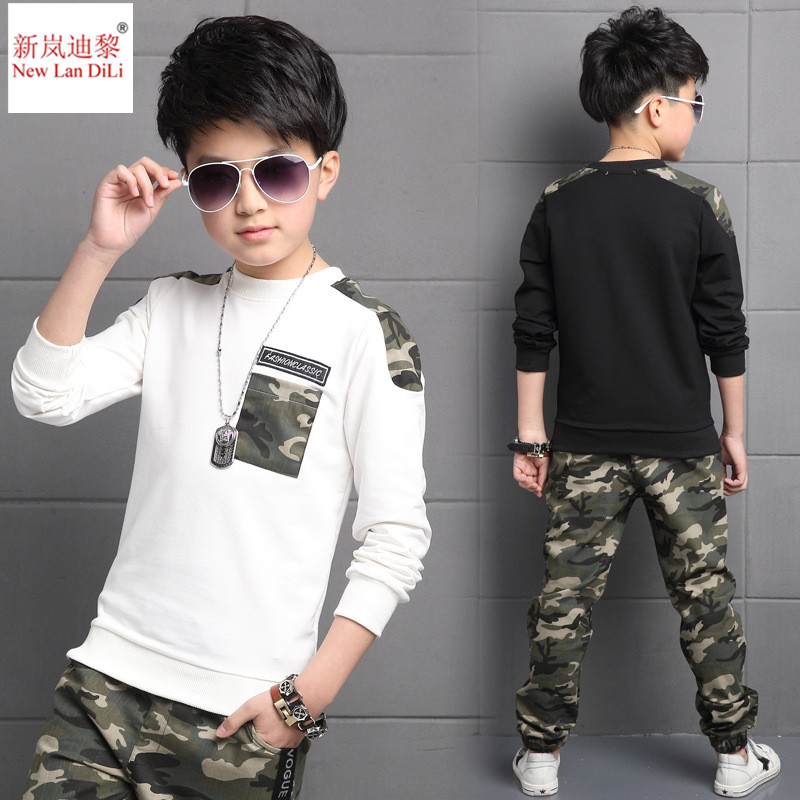 Boys Clothing Suit Children Clothing Sets Kids Clothes Boy Suits For Boys Clothes Kids Sport Tracksuit Camouflage Set i k boy vest suit breathable sport suit for boys 2017 summer new arrived children clothing two piece set comfortable suits a1082