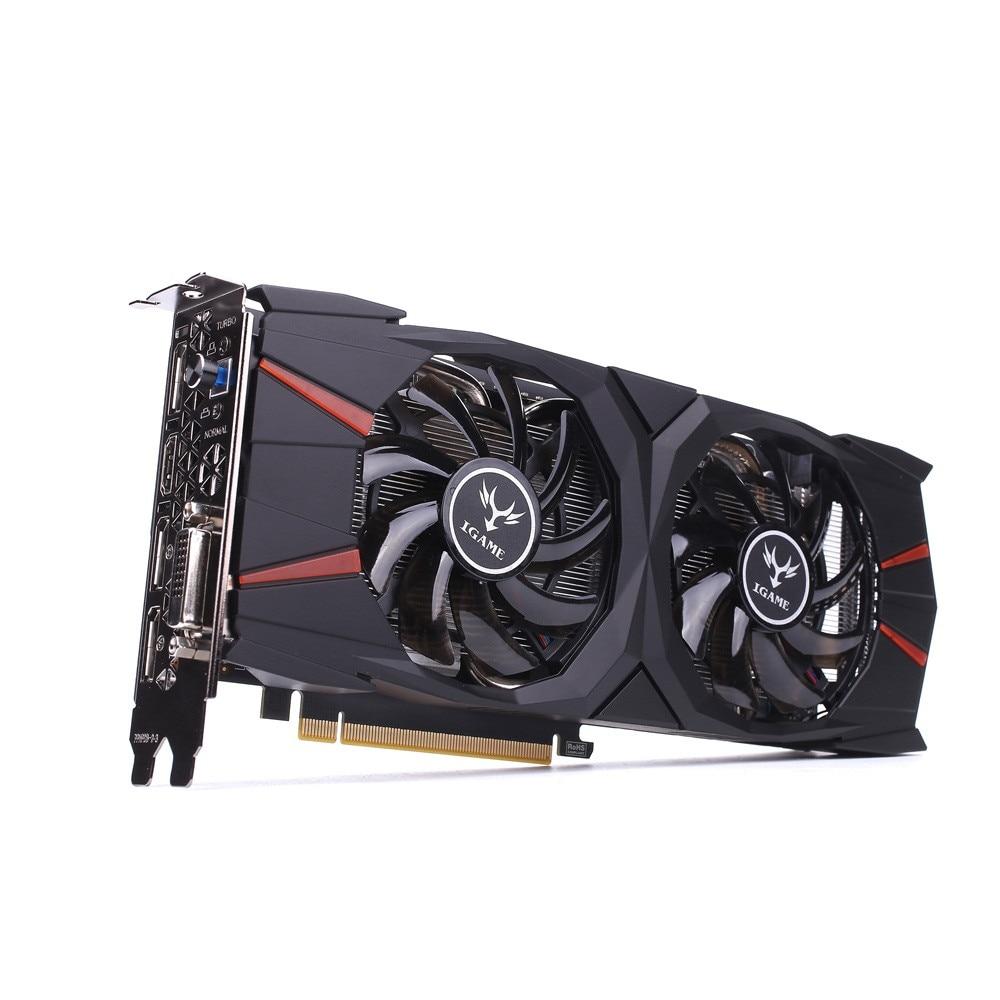 все цены на Graphics Card iGame GTX 1060 Vulcan U 6GB Video Graphics Card 192bit GDDR5 Super Gaming Horsepower онлайн