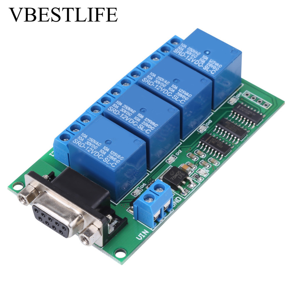 AC 220V Timer Relay Delay Switch Module Input/Output Delay Off ...