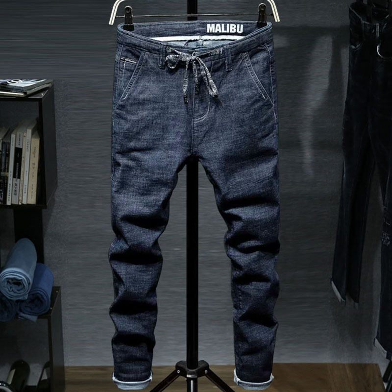 Brand Fashion Jeans Men 2017 Winter Autumn New Jeans Male plus size Fit Zipper Casual Denim Trousers Collapse pants Hip hop new afs jeep brand autumn and winter man jeans men pants straight cotton male denim brand jeans more pocket overalls