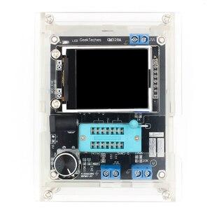 Image 2 - GM328 Multi use Transistor Tester DIY Kit Diode Capacitance Voltage Meter PWM Square Wave Signal Generator +DIY Acrylic Case