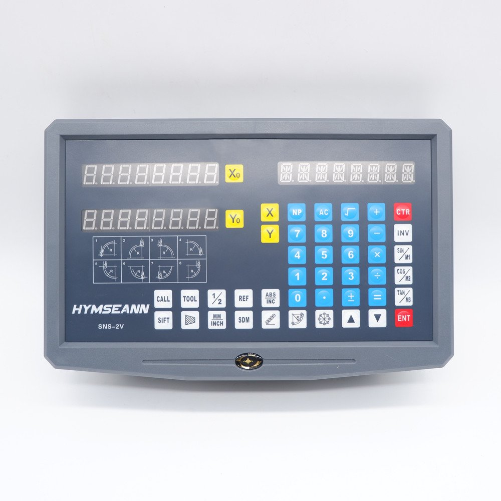 Scale AC110V For 0 2 New 2V Encoder Readout Display Pieces And 220V SNS DRO 1000mm Axis Machine Lathe Digital 2 Milling Linear