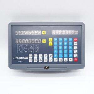 Image 2 - Nueva lectura Digital DRO de 2 ejes de SNS 2V pantalla AC110V/220V y 2 piezas codificador de escala lineal de 0 1000mm para máquina de torno para laminado