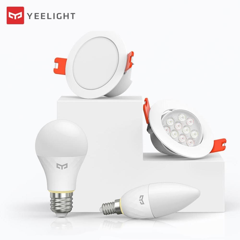 Xiaomi Yeelight Bluetooth Malha Inteligente E14/E27 Lâmpada Downlight Holofotes Trabalho com Yeelight Voz speaker & Xiaoai Relógio App controle