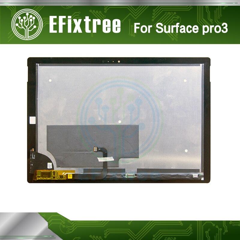 Nueva pantalla LCD de la Asamblea para Microsoft Surface Pro 3 (1631) TOM12H20 V1.1 LTL120QL01 003 pantalla lcd panel digitalizador de pantalla táctil - 3