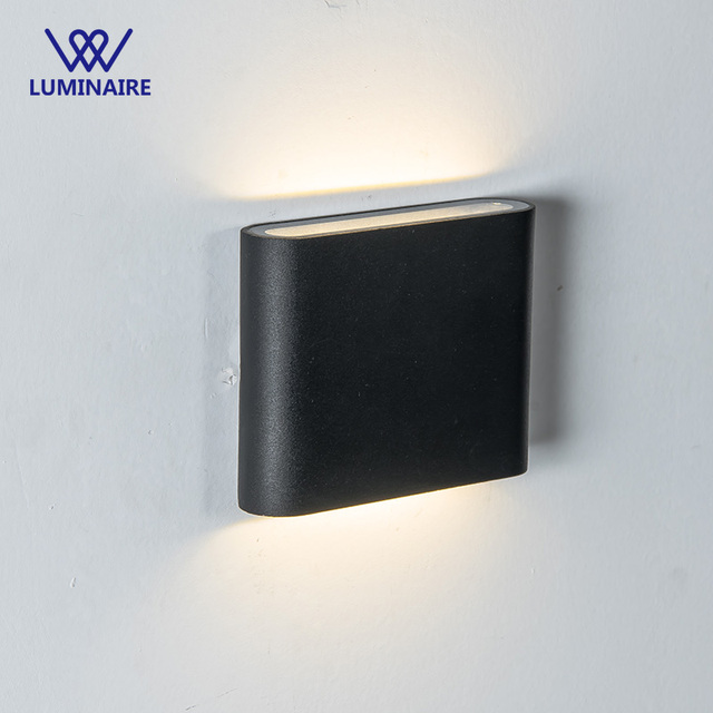 VW 10W LED Wall Light Outdoor Waterproof IP65 Modern Nordic style Indoor Wall Lamps Living Room Porch Garden Lamp AC85-265V