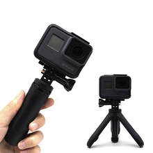 OSMO Action Mini Selfie Stick+Extendable Handle Tripod Steady For GoPro Hero 7 6 5 4 DJI Osmo Action Insta360 Yi 4K+EKEN SJCAM