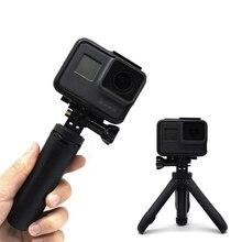 OSMO Action Mini Selfie Stick + treppiede allungabile con impugnatura fissa per GoPro Hero 7 6 5 4 DJI Osmo Action Insta360 Yi 4K + EKEN SJCAM