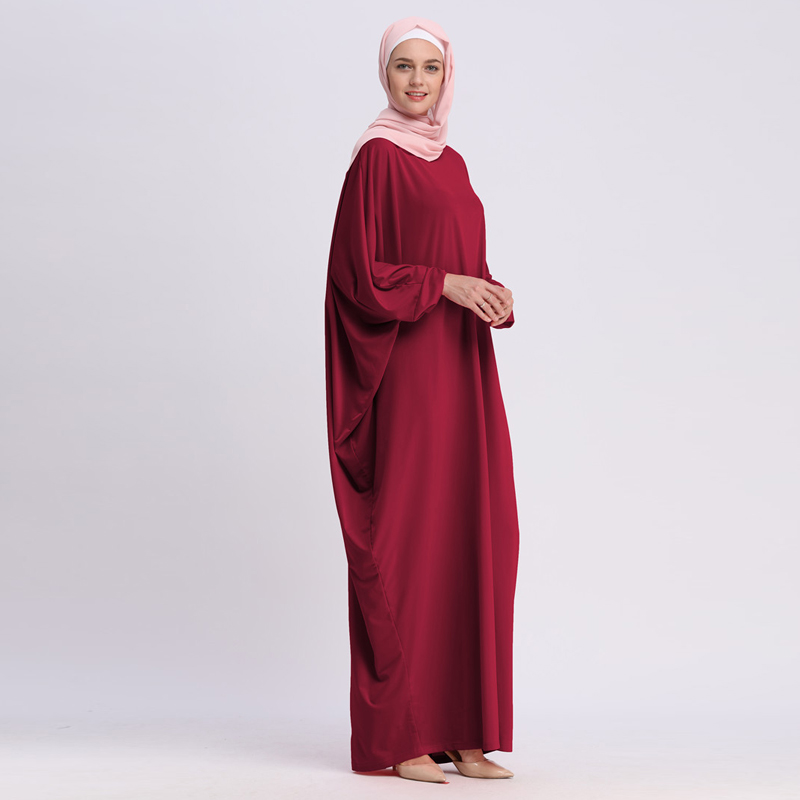 UAE Kaftan Abaya Dubai Arabic Islam Turkey Long Muslim Hijab Dress Abayas  For Women Turkish Islamic Clothing Hoofddoek Moslima
