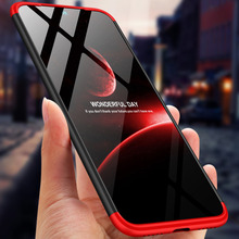 For Xiaomi Redmi Note 7 Case 360 Degree Full Body Cover Note7 Hybrid Shockproof + Tempered Glass Film