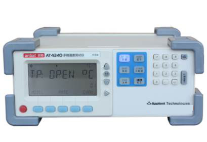 AT4340 40 Channels Thermocouple Temperature Meter Tester with High & Low Beep