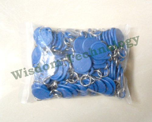 Wholesale 1000pcs RFID Tag Re-writable NFC Tag 13.56MHz Mif1 S50 Key Fobs For Access Control System