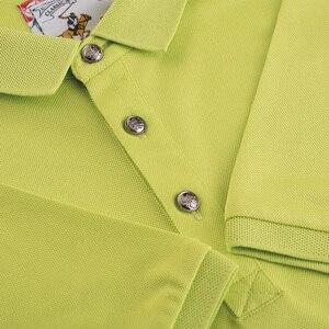 Image 5 - Erkek kişiselleştirilmiş polo GÖMLEK özel nakış tulum erkek yaz çalışması DIY kendi kısa kollu polo yaka gömlek