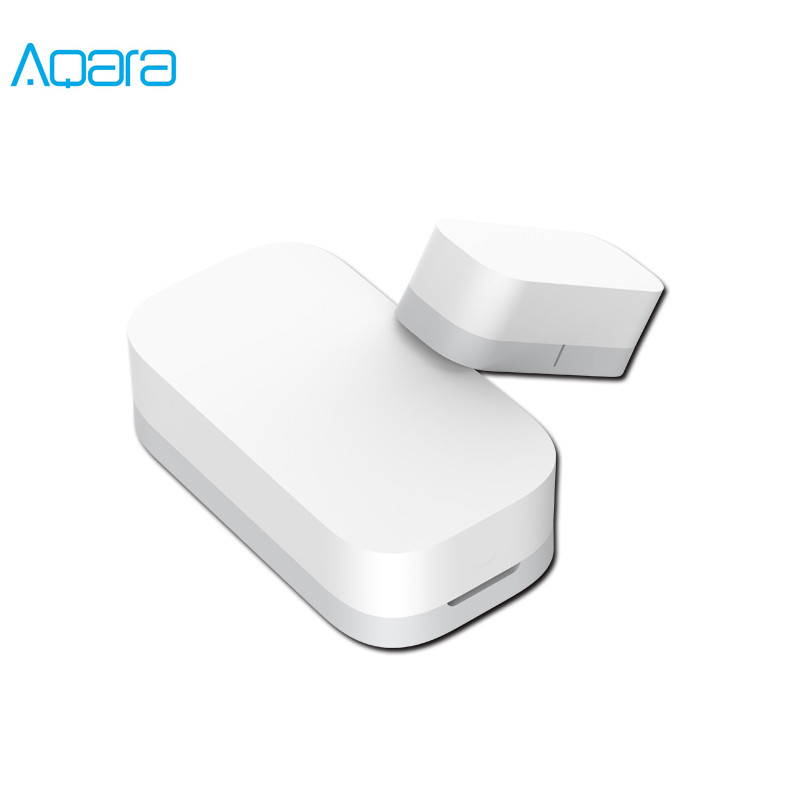 Xiaomi Aqara Door Window Sensor Zigbee Wireless Connection Smart Mini door sensor Work With Mi App For Android IOS Phone image