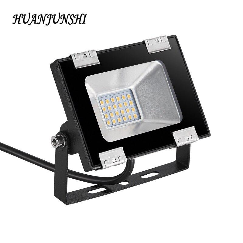 HUAN JUN SHI 1PCS 20W LED Flood Light 110V 2400 lumens Outdoor Garden Landscape Wall Spot Lamp Searchlight IP65 Waterproof|Floodlights| |  - title=