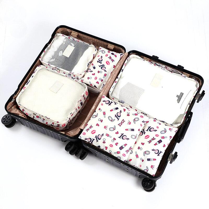 6PCS Mens Travel Bag Organizer Set Packing Cube Flamingo Packing Cubes Travel Luggage Organizer Women Oxford Wholesale 4856PCS Mens Travel Bag Organizer Set Packing Cube Flamingo Packing Cubes Travel Luggage Organizer Women Oxford Wholesale 485