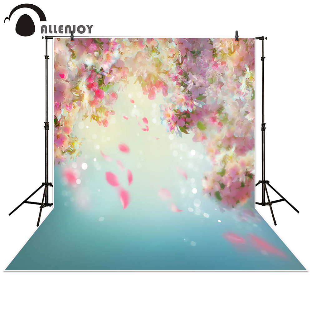 Allenjoy Photography Backdrop hazy bokeh pink flower blur background props lovely newborn baby photocall photobooth Photo studio конфеты гранат и шоколад семя жизни купить