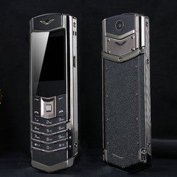 Desbloquear mafam m6i barra de luxo bluetooth dial metal corpo couro telefone móvel sênior único sim super sinal 3800mah p429