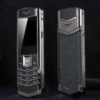 Entsperren MAFAM M6i Bar Luxus Bluetooth Zifferblatt Metall Körper Leder Senior Handy Einzigen Sim Super Signal 3800mah P429