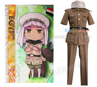 Cosplay Outfit Hetalia Axis Powers Egypt Military Uniform H008