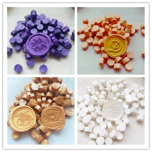 100pcs/lot Vintage Sealing Wax Tablet Pill Beads Granule/grain/strip Sticks For Envelope Wedding Wax Seal Ancient Sealing Wax