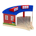 Fashion Tomas and Friends Railwayt train Track Wooden house parking slot toys for baby