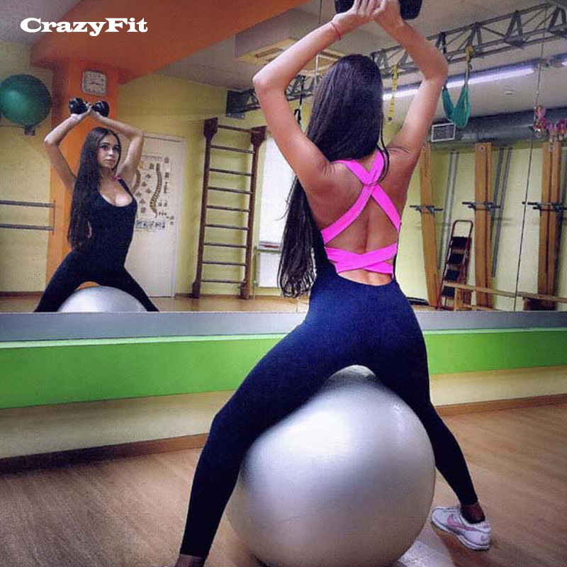 298ff932c0 2018 Fitness Clothing Yoga Set Women Sexy Jogging Suits Gym Workout ...