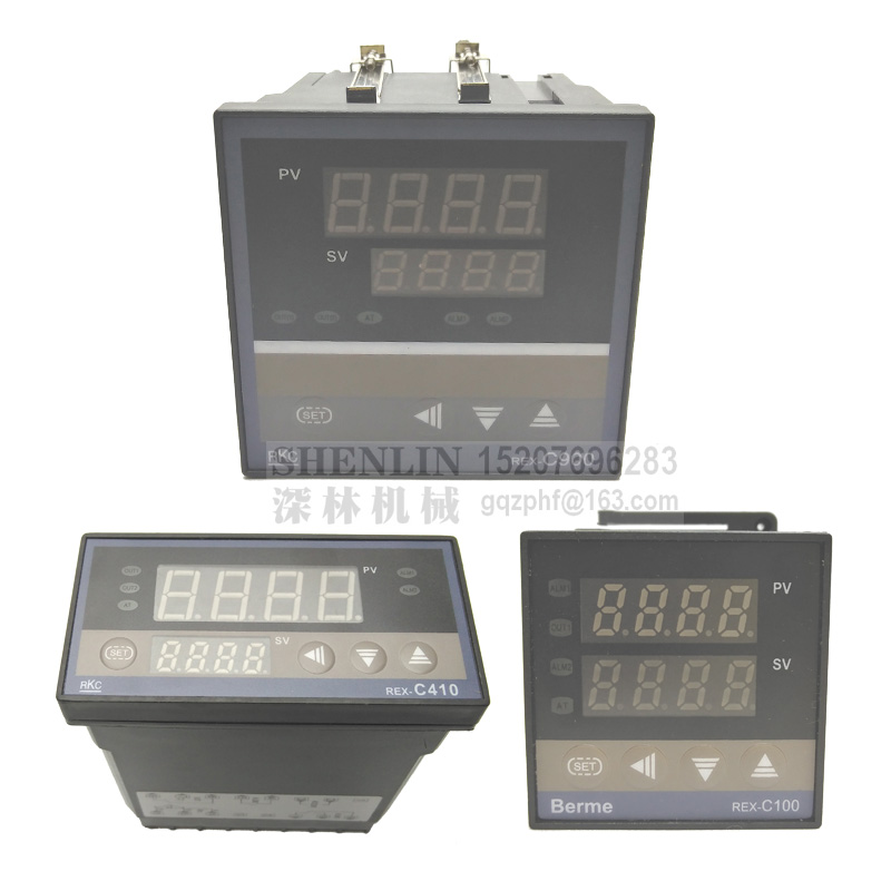 Thermostat New Digital PID Temperature Controller REX-C700 AC 110V 220V with SSR relay output Thermostat Regulator RKC 700 rex c100 digital pid temperature control controller thermostat thermometer relay output