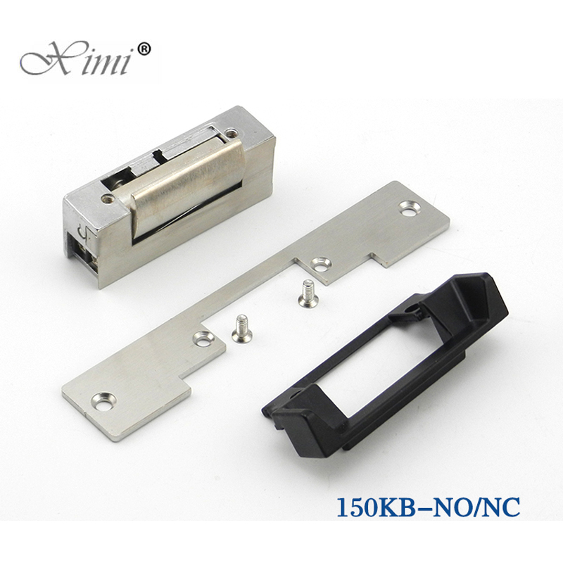 DC12V Door Lock Electric Strike NO Style Power To Open Fail-Secure Type Electric Lock Cathode lock For Access Control System