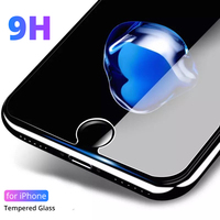 강화 유리 아이폰 6 7 8 se 6 s 5 s 4 s 화면 보호기 유리 아이폰 x xr xs 최대 보호 필름 아이폰 6 7 8 플러스