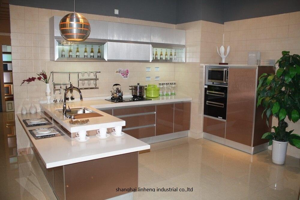 High gloss/лак кухонный шкаф mordern (LH LA097)