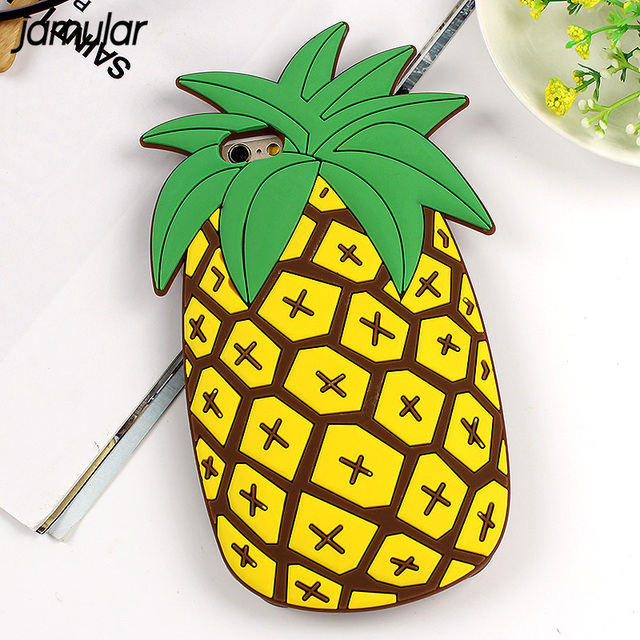 coque silicone iphone 8 ananas