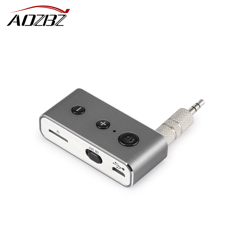 Car Bluetooth Receiver Music Audio Receiver Adapter Hands Free Car Kit AUX A2DP Streaming Kit