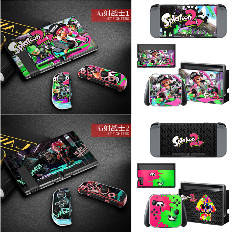 Video Games Back To Search Resultsconsumer Electronics Analytical Anti-fingerprint Nintend Switch Hard Thin Case Shell&stickers Skin Game Splatoon 2 For Nintendoswitch Console Game Accessories