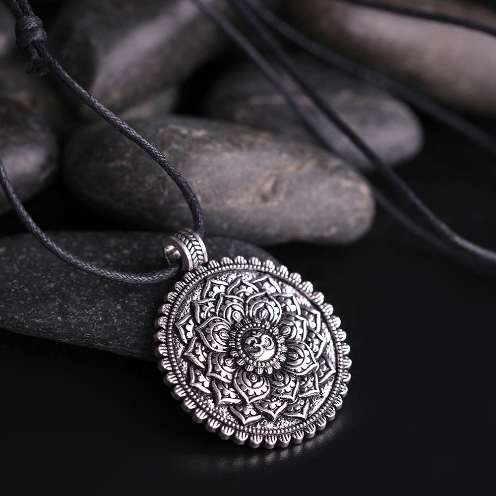 Women's Sacred Flower of Life Necklace 2
