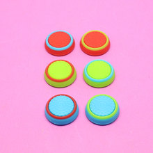 Silicone colorful Cap Thumb Stick Joystick Grip For Sony PS4 PS3 Xbox360 Xbox one Controller Game Accessory