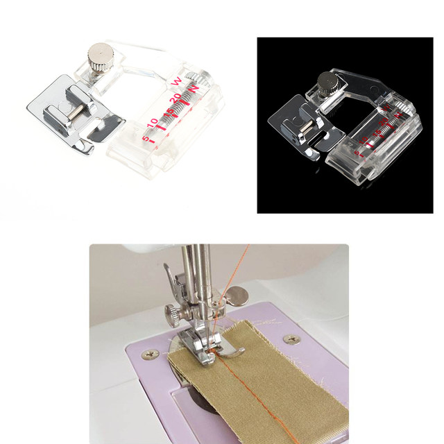 Online Shop 40 X High Quality Adjustable Bias Tape Binding Presser Awesome Sewing Machine Accessories Online