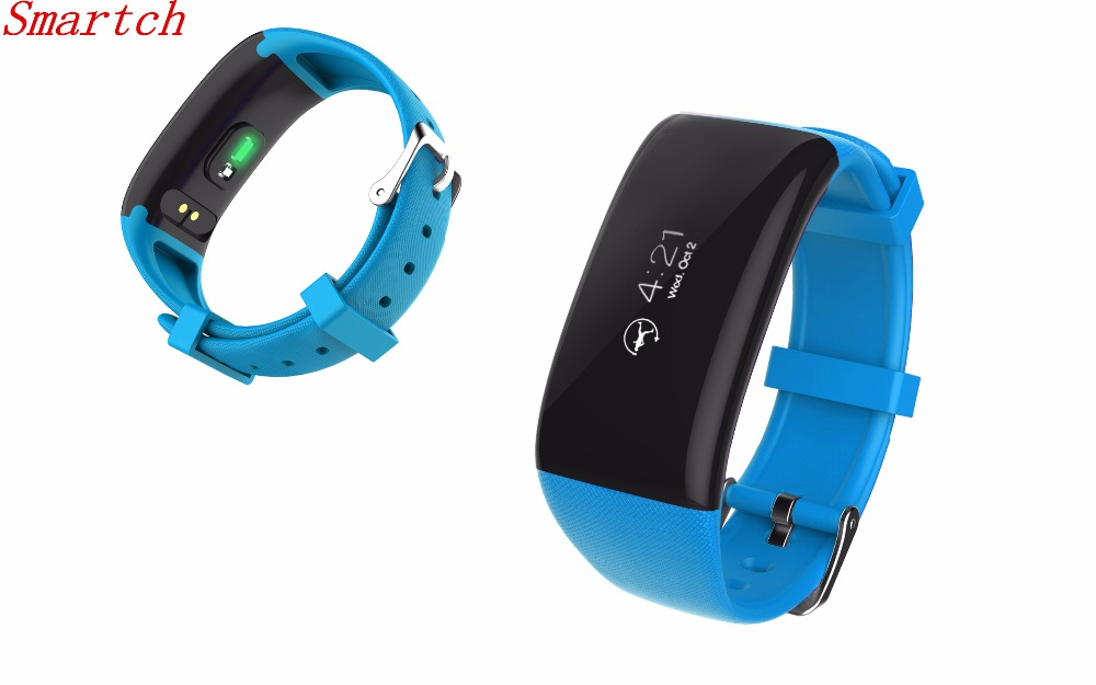 Smartch Smart Band X16 Heart Rate Monitor pulsera inteligent Fitness Tracker Bluetooth Bracelet For IOS xiomi
