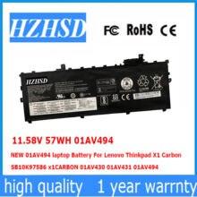 1158 в 57wh 01av494 оригинальный Аккумулятор для ноутбука lenovo